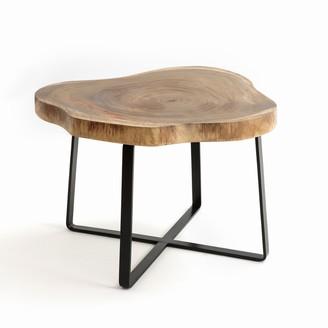 Am.pm. Sicamor Suar Wood Side Table