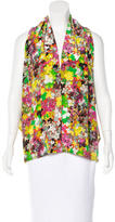 Etro Silk Floral Print Top