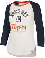'47 Women's Detroit Tigers Vintage Raglan T-Shirt