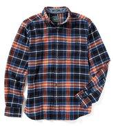 Woolrich Trout Run Long-Sleeve Plaid Flannel Shirt