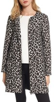 Cupcakes And Cashmere Women's Adeltia Leopard Print Jacket