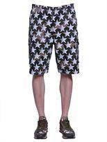Valentino Camustars Print Shorts