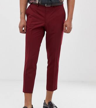 Heart N Dagger skinny fit pant in red