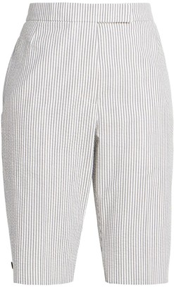 Thom Browne Menswear Fit Bermuda Shorts