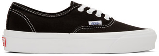 Vans Black OG Authentic LX Sneakers