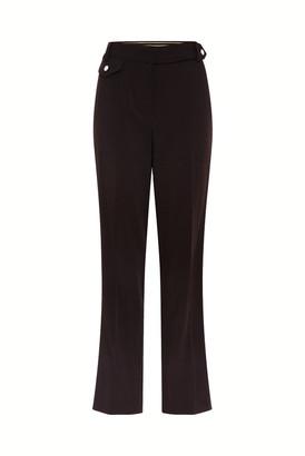 Gerard Darel Straight-leg Crepe Pants