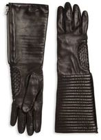 Portolano Long Leather Gloves