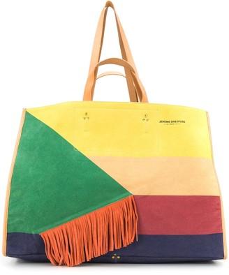 Jerome Dreyfuss Leon XL patchwork tote bag