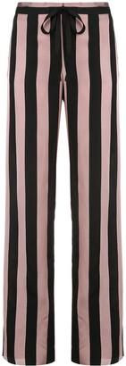 Marques Almeida Striped High Waisted Trousers