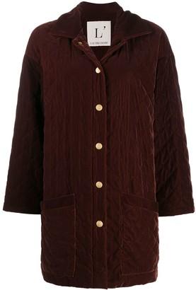 L'Autre Chose Quilted Velvet Jacket