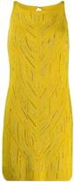 Ermanno Scervino embellished crochet dress