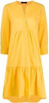Steffen Schraut oversized flared shirt dress