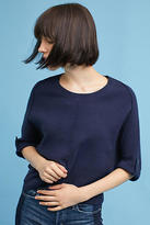 Anthropologie Cropped Cocoon Pullover