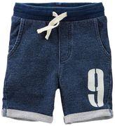 Osh Kosh Boys 4-12 French Terry Roll Cuff Shorts