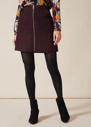 Phase Eight Drue Zip Skirt