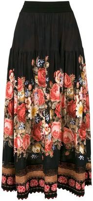 Cecilia Prado Mel midi skirt