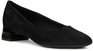 Geox Chloo 7 Suede Low-Heel Loafers