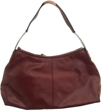 Tod's Red Patent leather Handbags