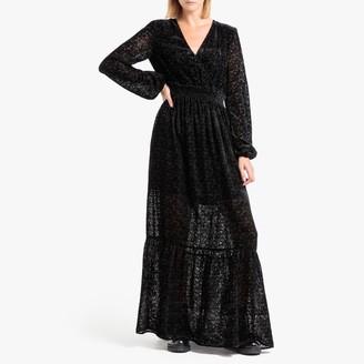 Liu Jo Long-Sleeved Maxi Dress
