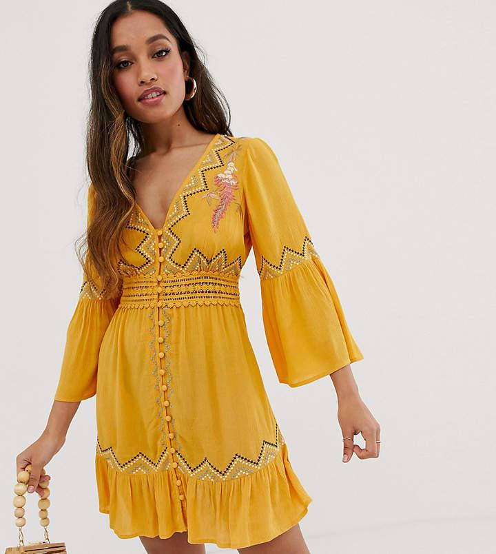 35966473ef01 Asos Lace Mini Dresses - ShopStyle