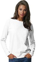 Hanes Women's ComfortSoft Long-Sleeve Preshrunk Cotton T-Shirt