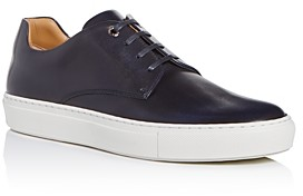 HUGO BOSS Men's Mirage Leather Low-Top Sneakers