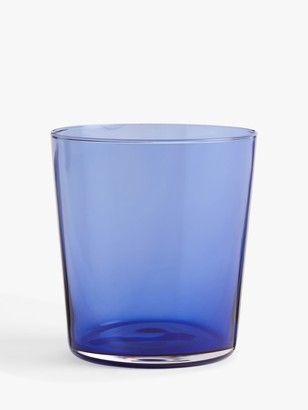 John Lewis & Partners Colour Pop Glass Tumbler, 360ml