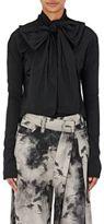 Marc Jacobs Women's Bow-Neck Blouse-BLACK