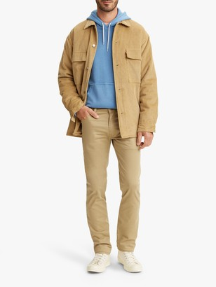 Levi's 511 Slim Fit Chinos, Harvest Gold Sueded
