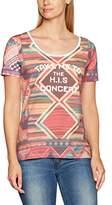 H.I.S Women's T- Shirt 1/2 sleeve, round neck - ladies Short Sleeve T-Shirt,XL