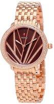 Michele Women's Serein Diamond 34mm Steel Bracelet Quartz Watch Mww21b000113