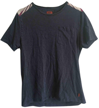 Missoni Blue Cotton T-shirts