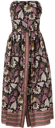 Alexis Socorra batik print dress