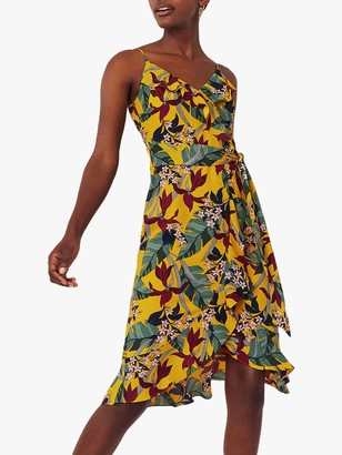 Oasis Bali Strappy Dress, Multi