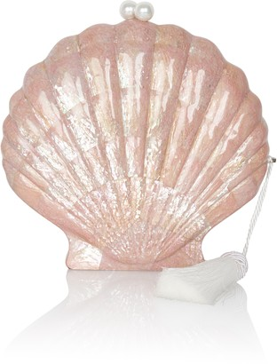 Emm Kuo Le Sirenseuse Scallop Clutch