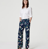 LOFT Valley Floral Trousers
