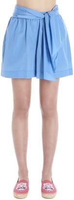 Kenzo Front Drape Shorts