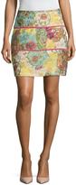 Cynthia Rowley Women's Chinoiserie Print Mini Skirt