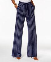 MICHAEL Michael Kors Striped Wide-Leg Pants
