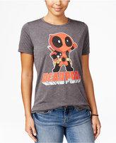 Mighty Fine Marvel Juniors' Deadpool Graphic T-Shirt