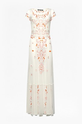 French Connection Seychelles Embroidered Maxi Dress