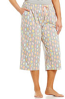 Sleep Sense Plus Summer Drinks Capri Sleep Pants