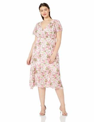 Betsey Johnson Women's Plus Size Midi Dress