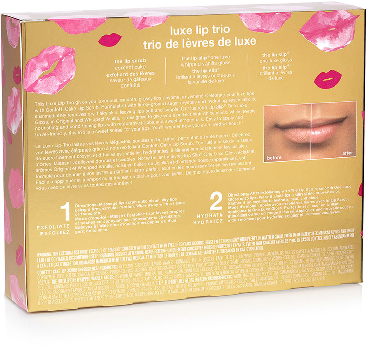 Thumbnail for your product : Sara Happ Luxe Lip Trio