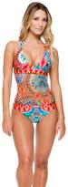 Luli Fama Encantadora Crochet Center One Piece In Multi-Color (L514790)
