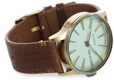 Nixon Copper and Green Sentry 38 SS Watch