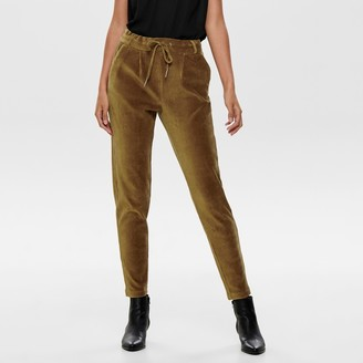 """Only Slim Velour Trousers, Length 32"""""""
