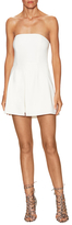 Jay Godfrey Pleated Bandeau Romper