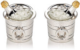 Jan Leslie Men's Champagne Bucket Cufflinks