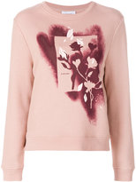 Carven Flower Spray jumper